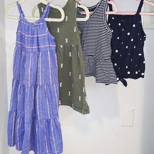 👧🏻Toddler girl 2T bundle dresses tanks